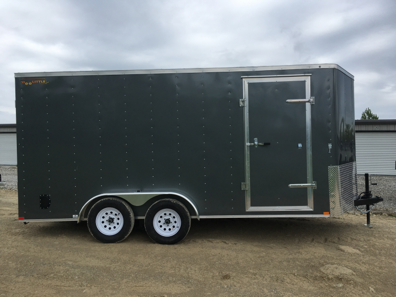 2019 Doolittle Trailer Mfg 7 x 16 T/A Enclosed Cargo Trailer