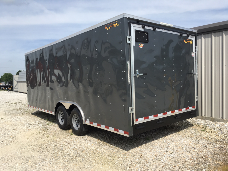 2019 Doolittle 8.5' x 20' Enclosed Cargo Trailer 10000 GVWR + REAR RAMP DOOR