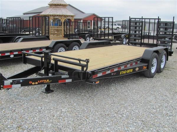 "New 2018 Doolittle 82"" x 16+2 14K Dove Xtreme Equipment Trailer"