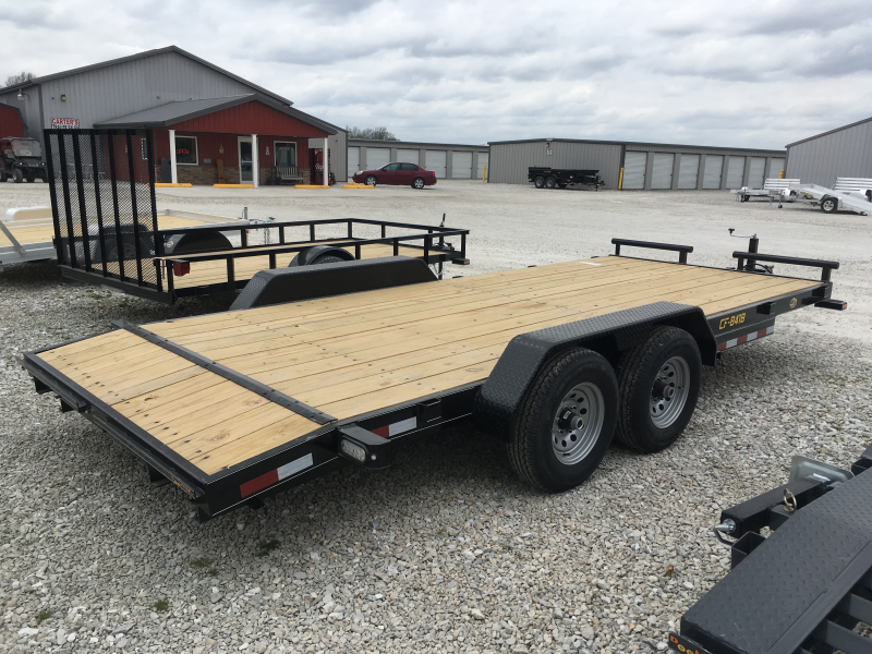 2019 Doolittle Trailer Mfg 84 x 16 + 2 Dove CF ECONOMY MODEL Equipment Trailer