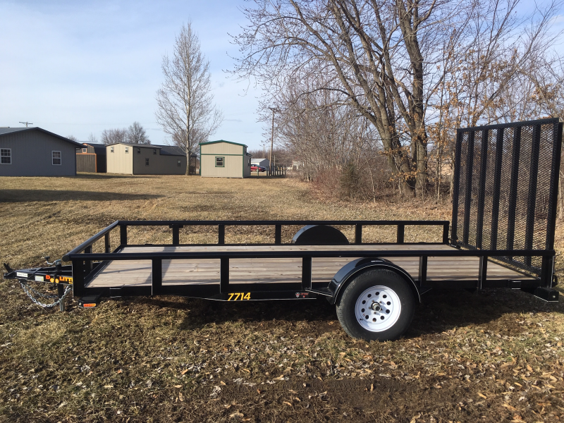 2018 DooLittle 77 x 14 Utility Trailer