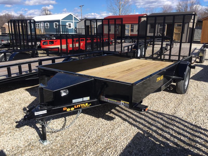 "2019 Doolittle Trailer Mfg 77"" X 14' SS Utility Trailer"