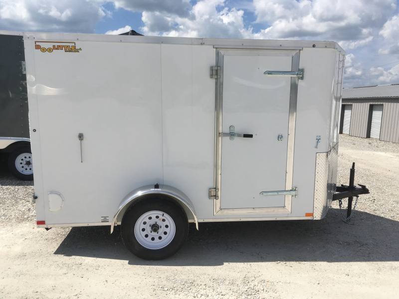 2019 Doolittle Trailer Mfg 6 x 10 Enclosed Cargo Trailer