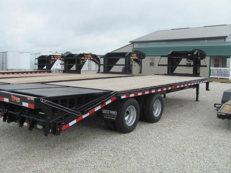"New 2019 Doolittle 102"" x 20+5 Dove Brute Force Deckover 22K Trailer"