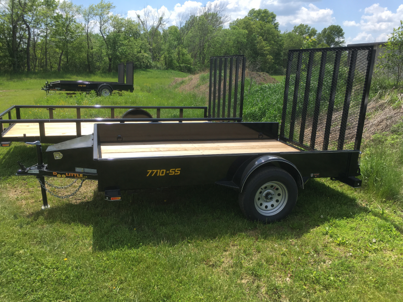 2019 Doolittle Trailer Mfg 77 x 10 SS SERIES Utility Trailer