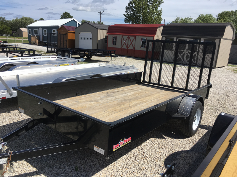 "2013 Finish Line 76"" X 12' Utility Trailer"