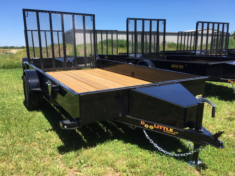 2019 Doolittle Trailer Mfg 77 x 12 SS SERIES Utility Trailer
