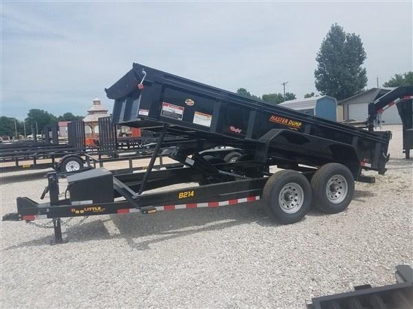 "New 2019 DOOLITTLE 82"" x 14' Master Dump Trailer 14000 GVWR"
