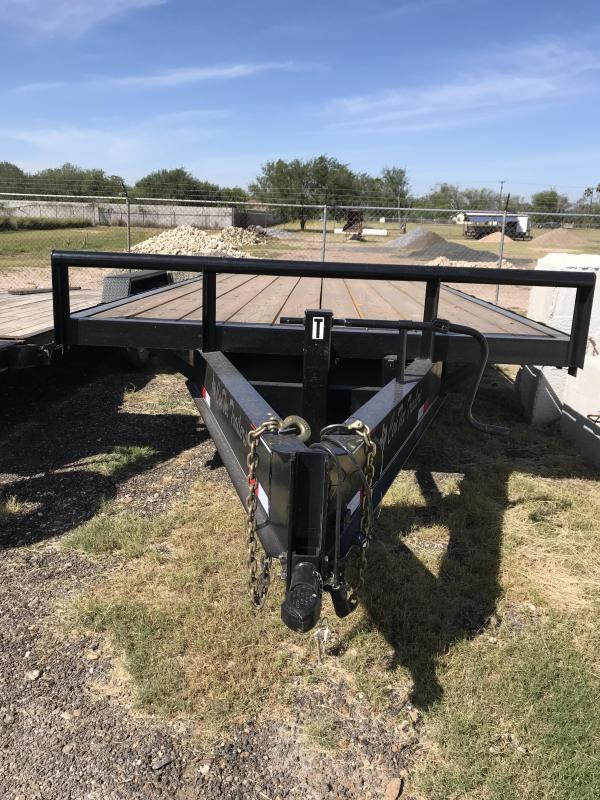 2018 Centex Trailers 16x83 flatbed Flatbed Trailer
