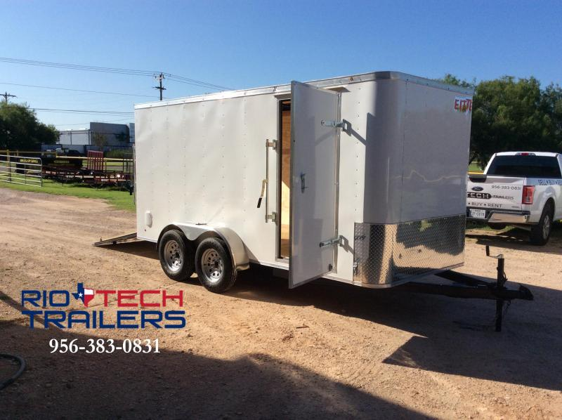 2016 Cross Trailers 6 x 14 TA Enclosed Cargo Trailer