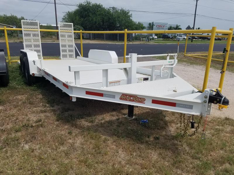2016 Maxxd Trailers Skid Steer Equipment Trailer