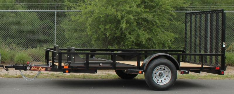 2016 Maxxd Trailers 12 x 83 - Angle SA light utility trailer