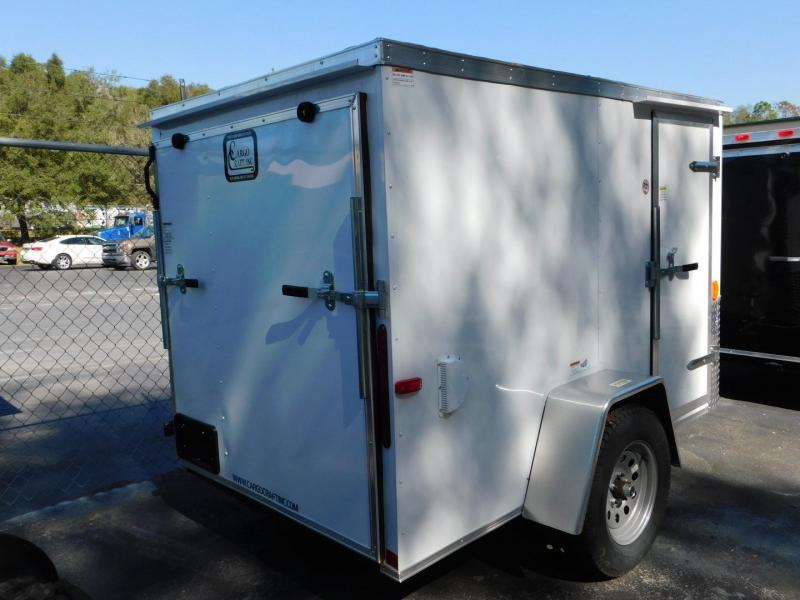 2016 Cargo Craft 4x6 Enclosed Cargo Trailer
