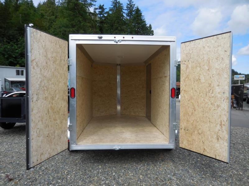 2017 Mission 6x10 Duralite All Aluminum Enclosed Cargo Trailer