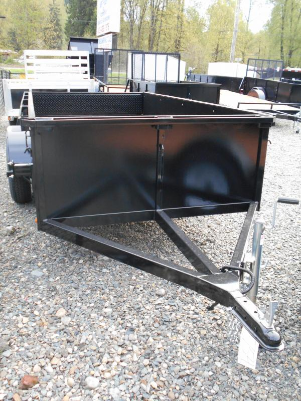 2014 Iron Eagle Voyager 4x8 split gate Utility Trailer