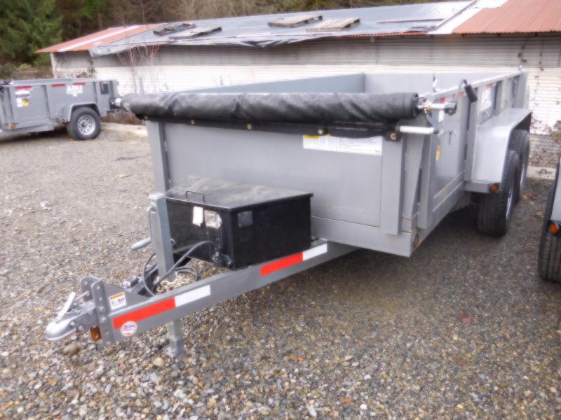 2019 ABU 6x12 Scissor Lift 10K Dump Trailer
