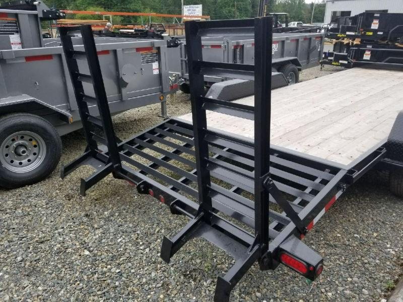 2018 Big Tex Trailers 14ET-20 Equipment Flatbed Trailer
