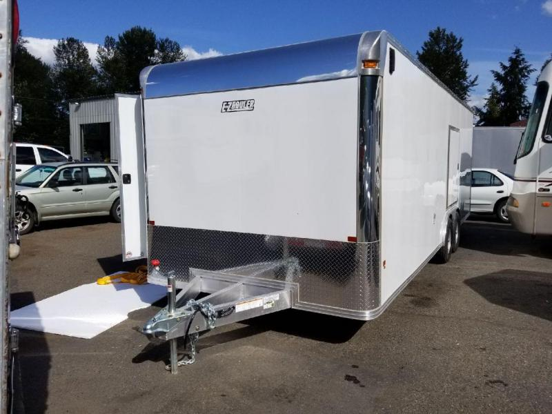2018 EZ Hauler 8x24 Enclosed Car Hauler 10K Cargo Trailer