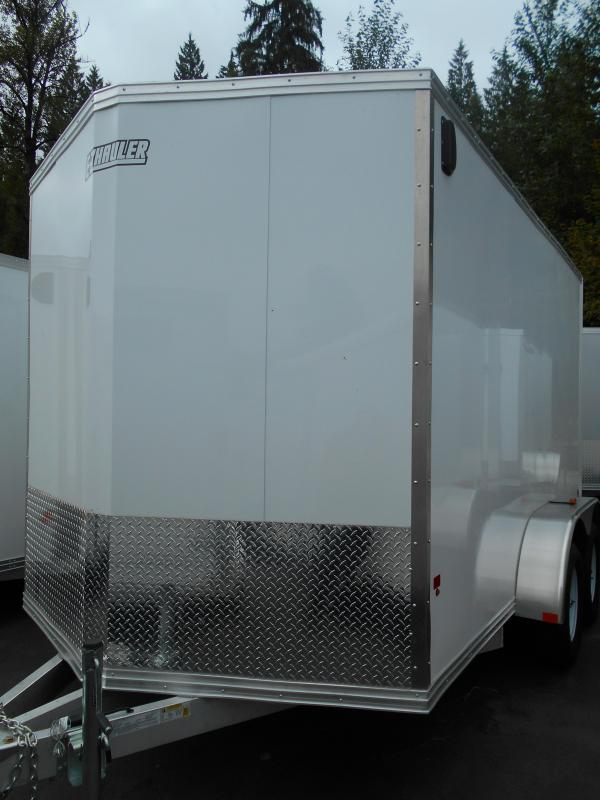 2014 Mission 7x12 Duralite Enclosed Cargo Trailer