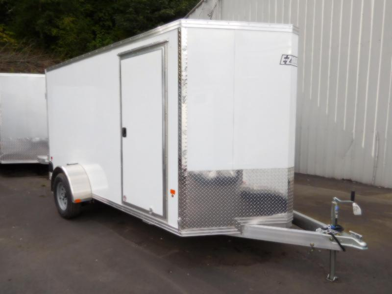 2019 EZ Hauler 6x12 Aluminum Enclosed Cargo Barn Door Trailer