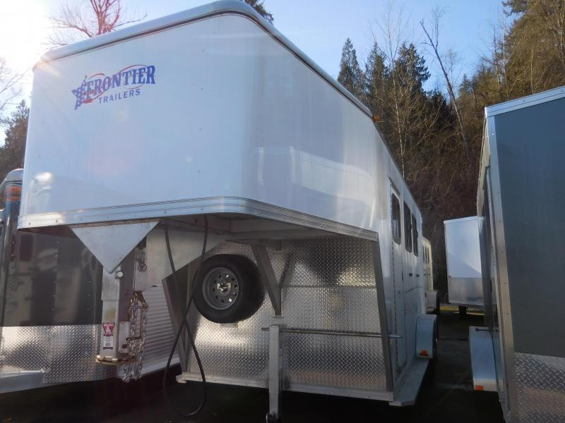 2016 Frontier Strider 2 Gooseneck Horse Trailer