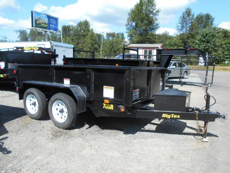 2015 Big Tex Trailers 10SR Dump Trailer