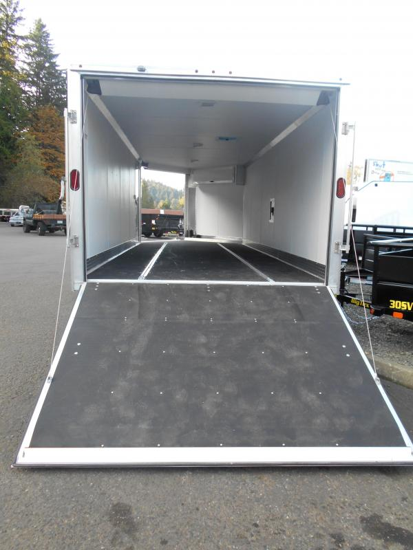 2015 Mission MES 101x22' + 6' Snowmobile Trailer