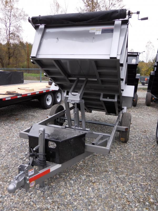 2016 ABU 5x10 Single Axle Dump Trailer