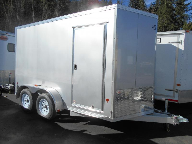 2015 Mission 7x12 Cargo / Enclosed Trailer