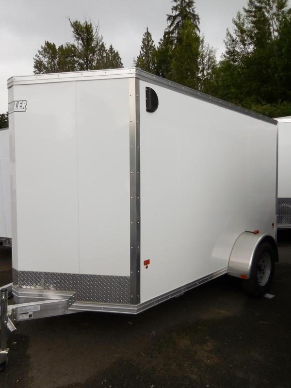 2016 Mission 6x10 Duralite All Aluminum Enclosed Cargo Trailer