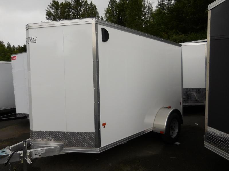 2017 6x10 Ez-Hauler All Aluminum Enclosed Cargo Trailer