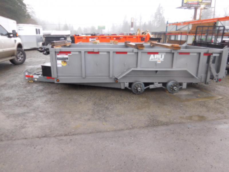 2018 ABU 7x14 14K Tandem Axle Dump Trailer
