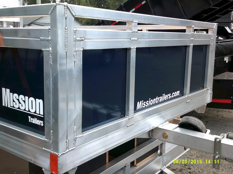 2015 Mission 5x8 SSR Utility Trailer