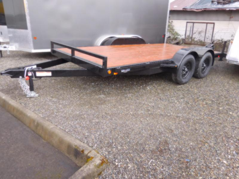 2018 Iron Eagle 7000 Series 7x14 Flatbed Trailer