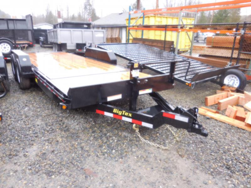 2018 Big Tex 83x20 Heavy Duty Tilt Equipment Trailer
