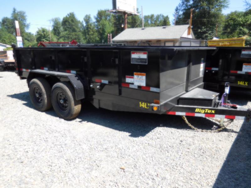 2019 Big Tex  14LX 7x14 Dump Trailer - Scissor Lift - 45 Degree Dump & Ramp Kit