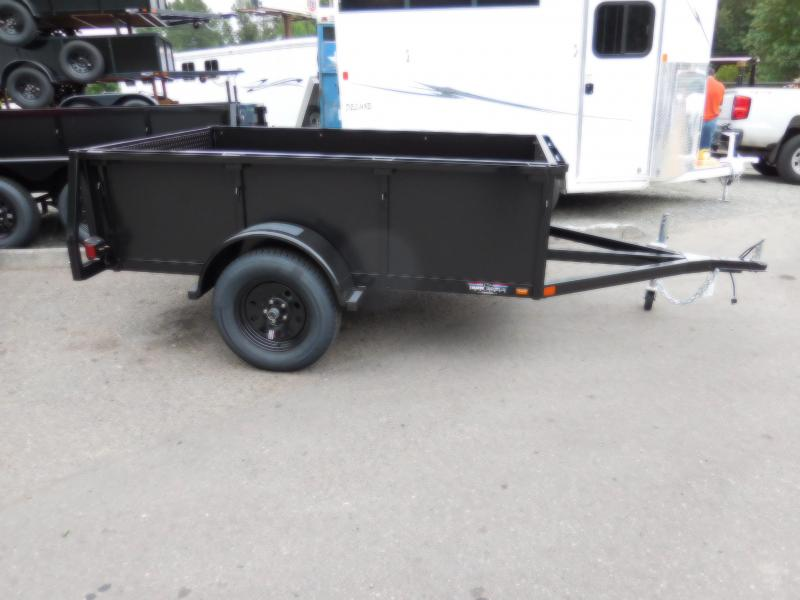 2018 Iron Eagle 5x8 Voyager Series Utility Landscape Trailer - Split Ramp Tailgate