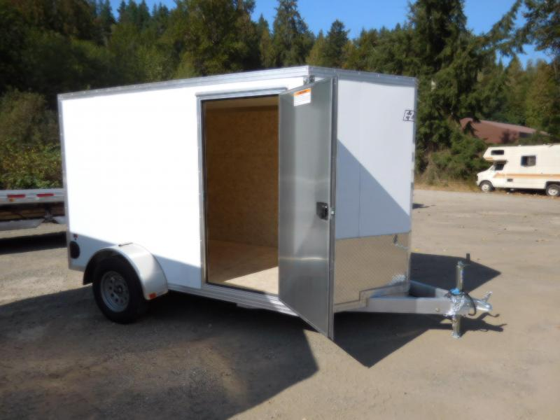 2019 EZ Hauler 6x10 All-Aluminum Enclosed Cargo Trailer w/Ramp