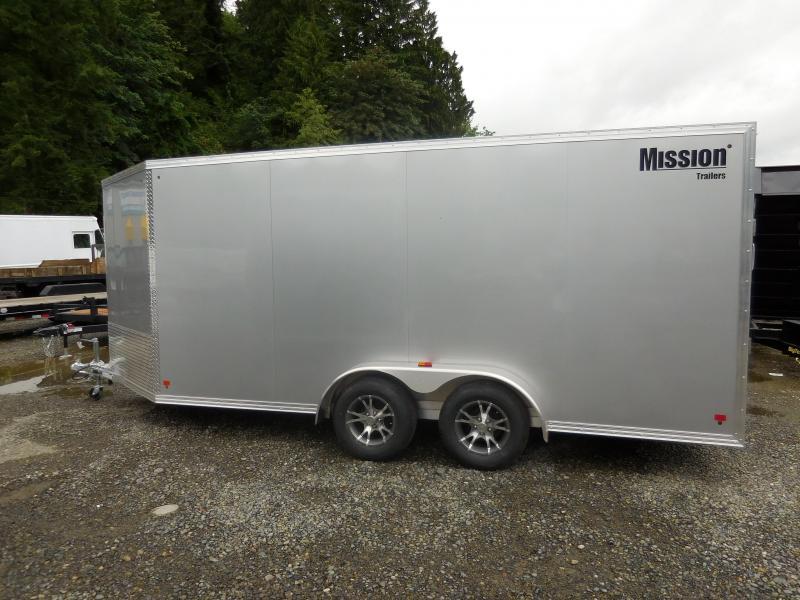 2017 Mission 7x16 Cargo / Enclosed Trailer