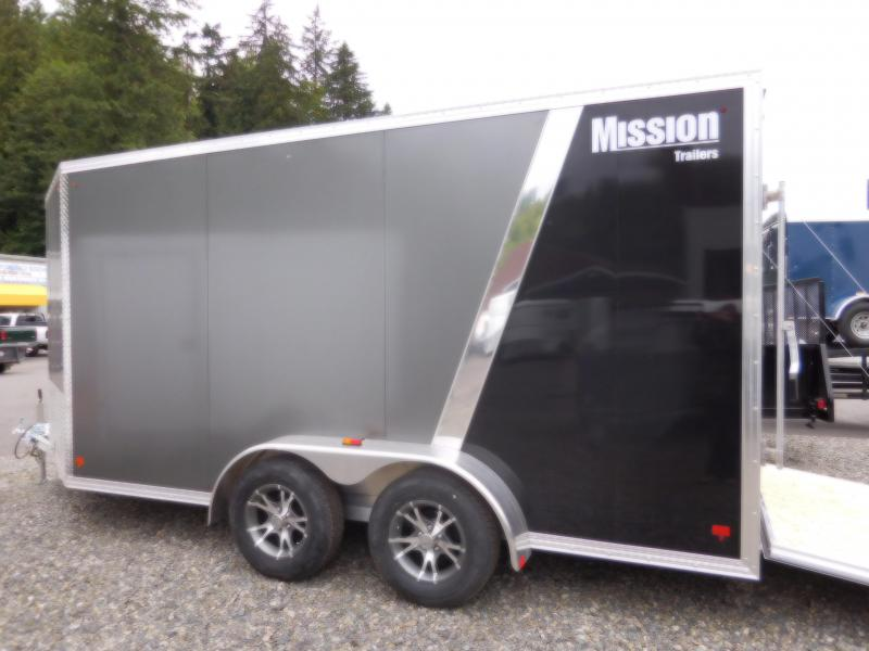 2017 Mission 7x14 Cargo / Enclosed Trailer