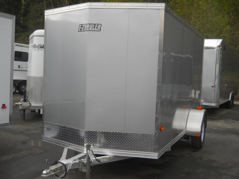2014 6x12 Mission duralite Cargo / Enclosed Trailer