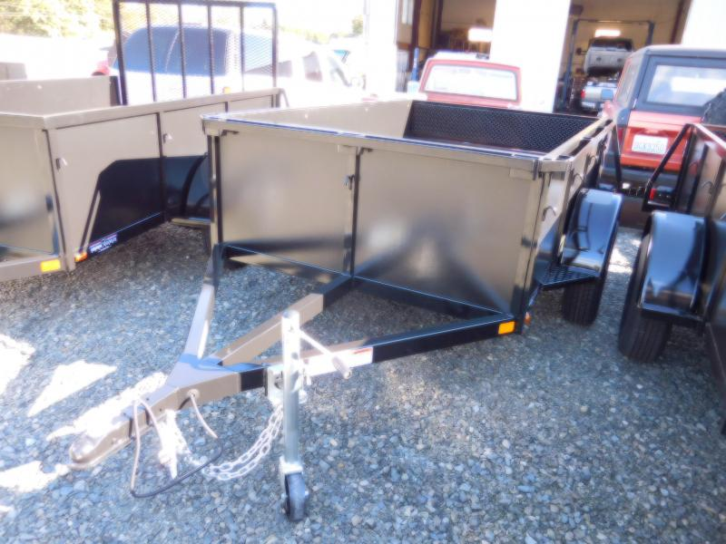 2019 Iron Eagle 5x8 Voyager Utility Trailer With Rear Split Gate