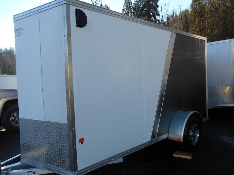 2015 Mission 6x12 Duralite All Aluminum Cargo / Enclosed Trailer
