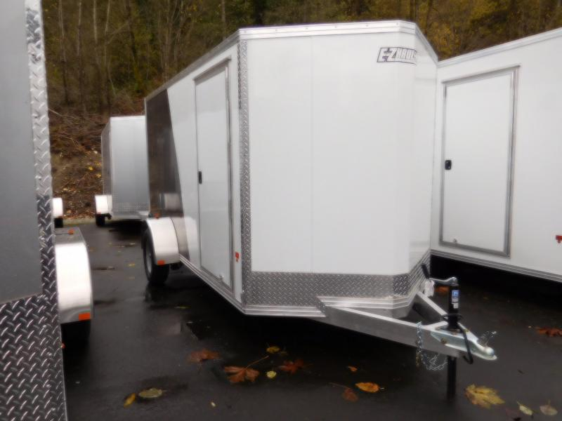 2017 EZ Hauler 6x12 All Aluminum Cargo / Enclosed Trailer