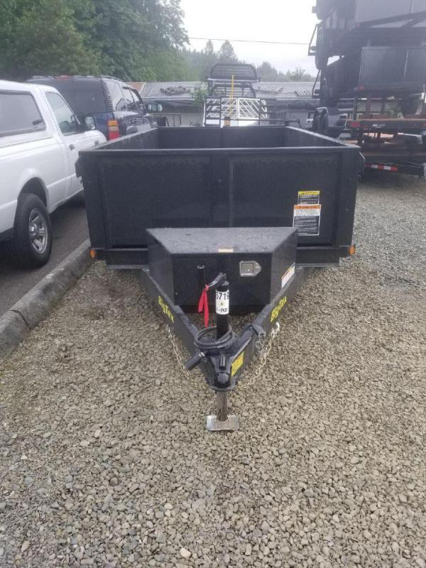 2018 Big Tex Trailers 70SR 5x10 Dump Trailer - Single Cylinder Lift
