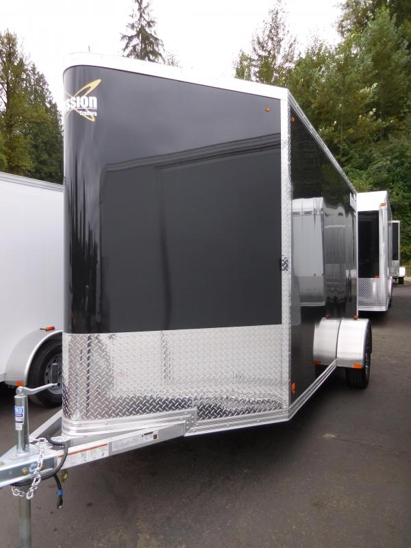 2017 Mission 6x12 All Aluminum Cargo / Enclosed Trailer