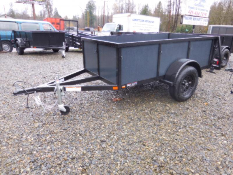 2018 Iron Eagle Voyager 4X8 Swing Gate Utility Trailer