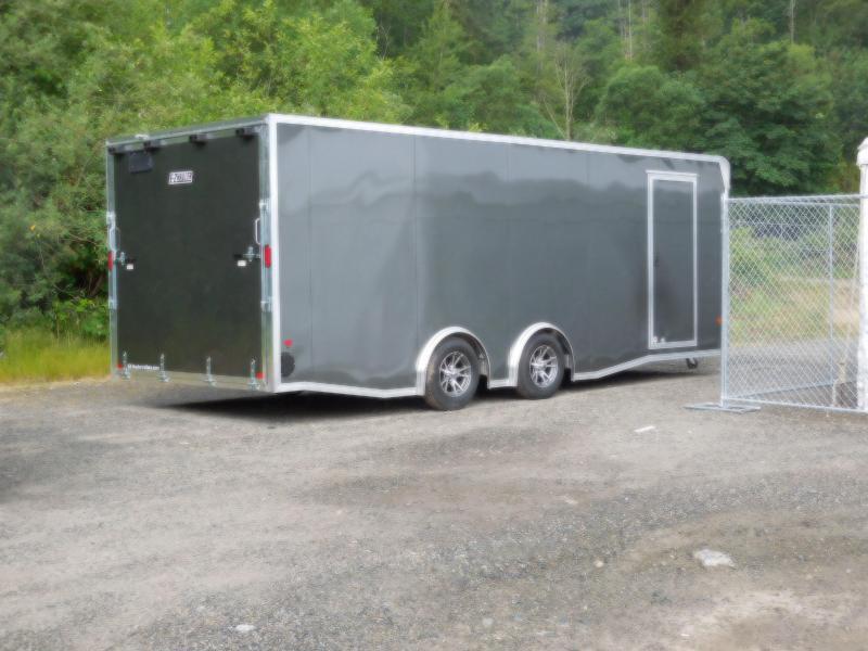 Custom 2018 EZ Hauler 8x22 7K Torsion Spread Axle Enclosed Car Hauler Cargo Trailer