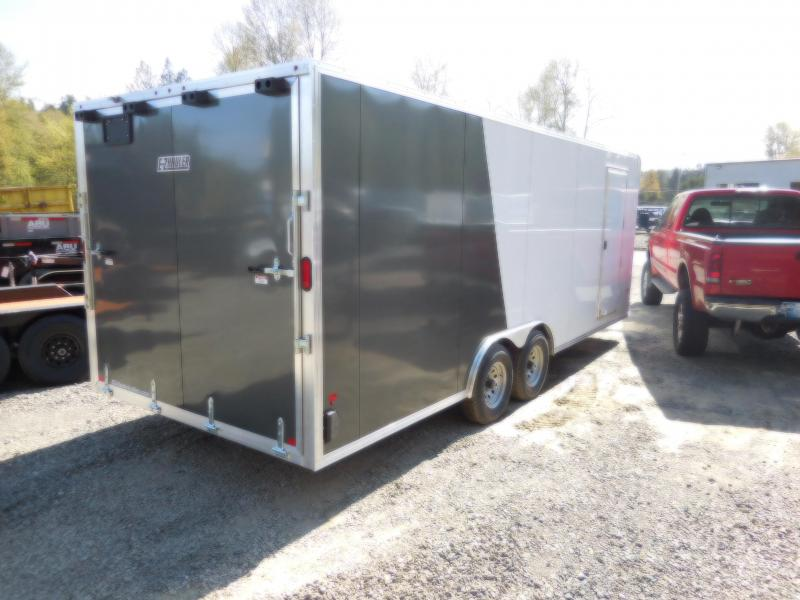 2018 EZ Hauler 8x22 All-Aluminum 10K Enclosed Car Hauler Cargo Trailer