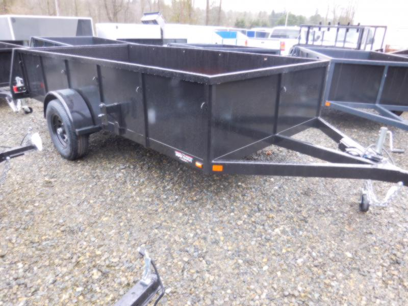 2018 Iron Eagle 6x12 Voyager Series 5K Utility Trailer with Split Gate Combo